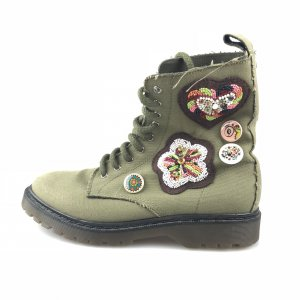 Green Red Valentino Boot