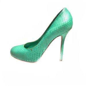 Sergio Rossi High-Heeled Sandals green