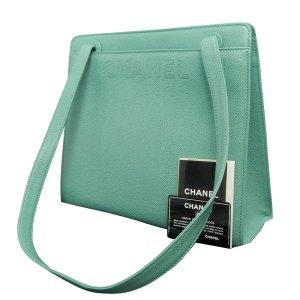 Chanel Borsetta verde Pelle
