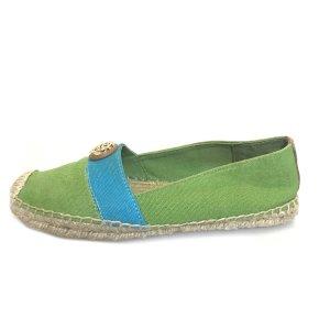 Tory Burch Espadrille sandalen groen