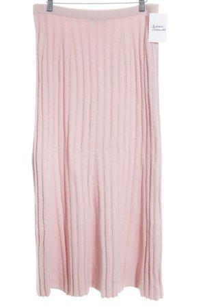 Green Tree Falda de punto rosa-rosa claro mullido