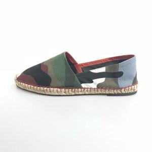 Green Valentino Flat