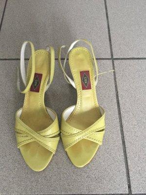 Cox High-Heeled Sandals meadow green-green