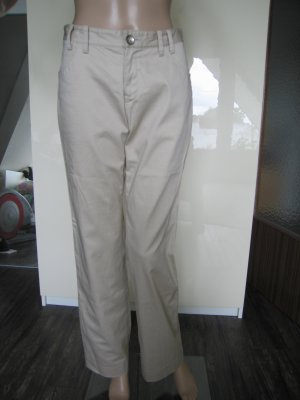 Pantalone chino beige-sabbia Cotone