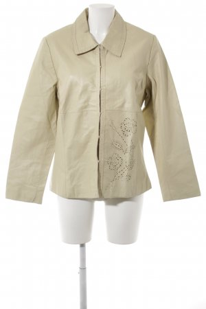 GreenHouse Lederjacke creme Casual-Look