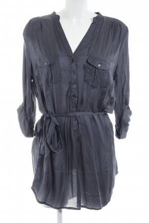 GreenHouse Long-Bluse graublau Casual-Look