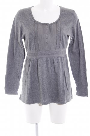 GreenHouse Longsleeve grau Casual-Look