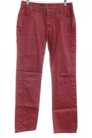 GreenHouse Straight-Leg Jeans himbeerrot Casual-Look
