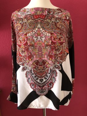 Long Blouse multicolored polyester