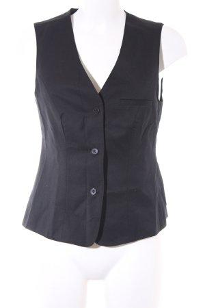 Greiff Waistcoat black business style