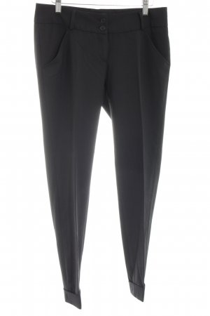 Greiff Bundfaltenhose schwarz Business-Look