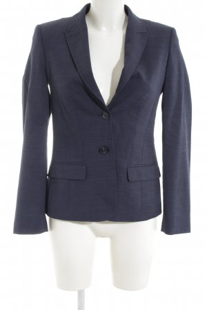 Greiff Blazer in lana blu stile professionale