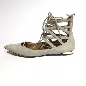 Grey  Aquazzura  Flat