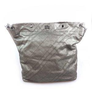 Grey  Burberry Shoulder Bag