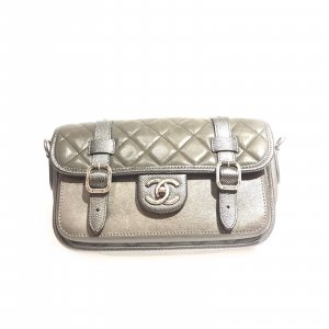 Grey  Chanel Shoulder Bag
