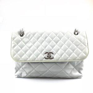 Chanel Bolsa de hombro gris