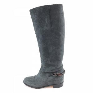 Grey  Christian Louboutin Boot