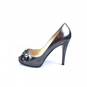 Grey  Christian Louboutin High Heel