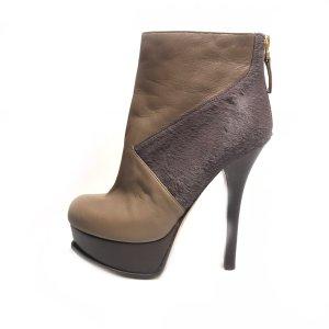 Grey  Fendi High Heel