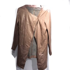 Grey  Gerard Darel Leather Jacket