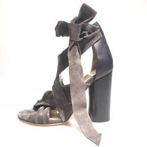 Isabel Marant High-Heeled Sandals grey