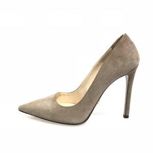 Grey  Prada High Heel