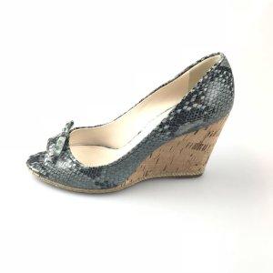 Grey  Prada Sandal