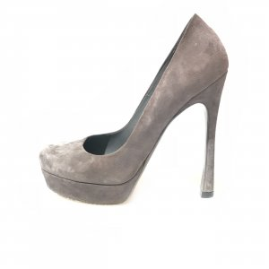 Grey  Saint Laurent High Heel