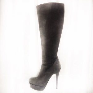 Grey  Yves Saint Laurent Boot