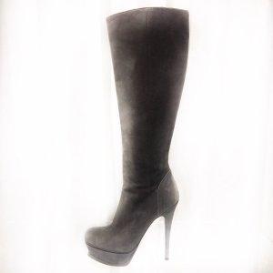 Grey  Yves Saint Laurent Boot