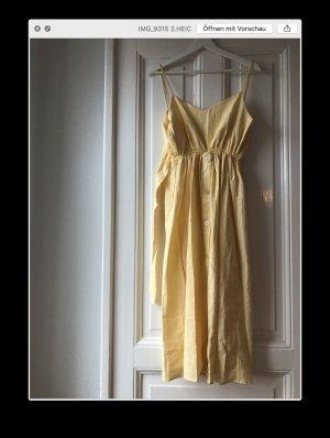 Greydawn gelbes Baumwollkleid Hängerchen in softem Gelb aus Baumwolle XS