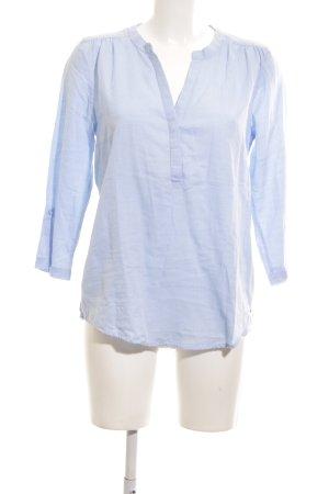 Greystone Schlupf-Bluse blau Casual-Look