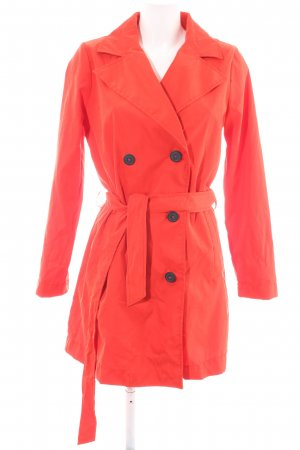 Greystone Trench Coat red business style