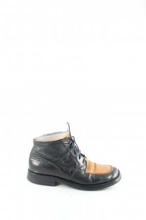 Grinto Ankle Boots braun-schwarz Casual-Look