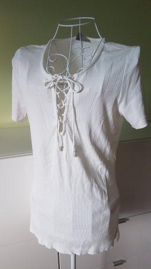 Gripptes Shirt von Vero Moda Gr. 40