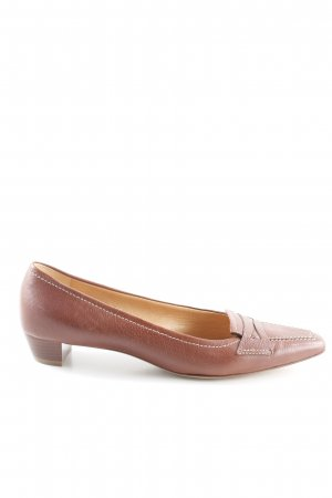 Gritti Loafers cognac-coloured business style