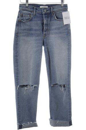 GRLFRND High Waist Jeans blau Casual-Look