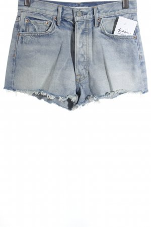 GRLFRND Shorts hellblau Casual-Look