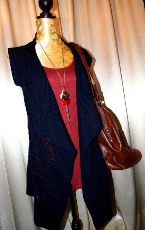 Vero Moda Cardigan en crochet multicolore