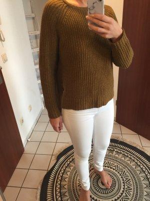 Grob gestrickter Pullover