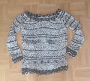 grob gestrickter Pullover von Zara