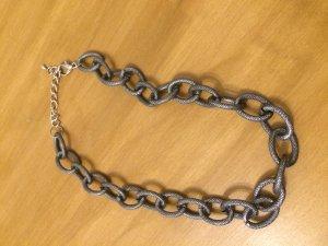 Grobe Halskette in Silber von Passero