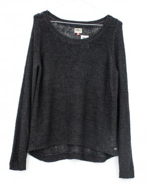 Only Coarse Knitted Sweater grey brown polyacrylic