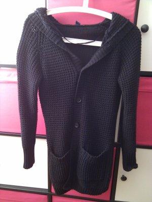 s.Oliver Veste tricotée en grosses mailles noir