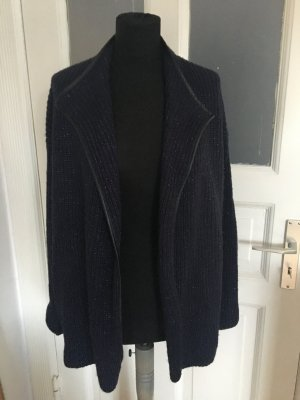 Grobstrickjacke mit Lurex