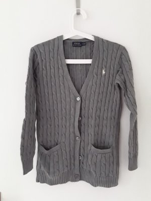 Polo Ralph Lauren Coarse Knitted Jacket grey