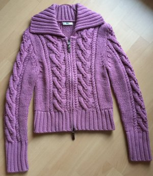 Mango Coarse Knitted Jacket multicolored