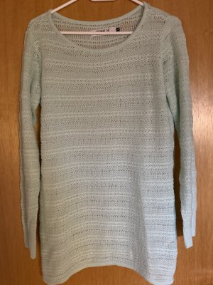Grobstrickpullover in Mint