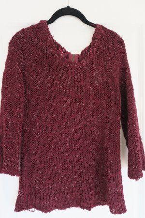 Atmosphere Coarse Knitted Sweater multicolored