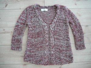 Zara Pull tricoté multicolore